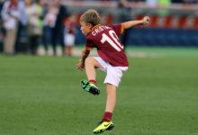 Baby-Totti, campione già capocannoniere