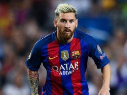 """Messi: """"Auguri Totti, ti ho sempre ammirato e l'ho fatto ancora di più dal giorno che ti ho conosciuto"""""""