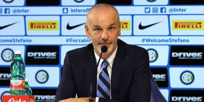 """Inter, Pioli: """"Contro la Roma non è spareggio per la Champions"""""""