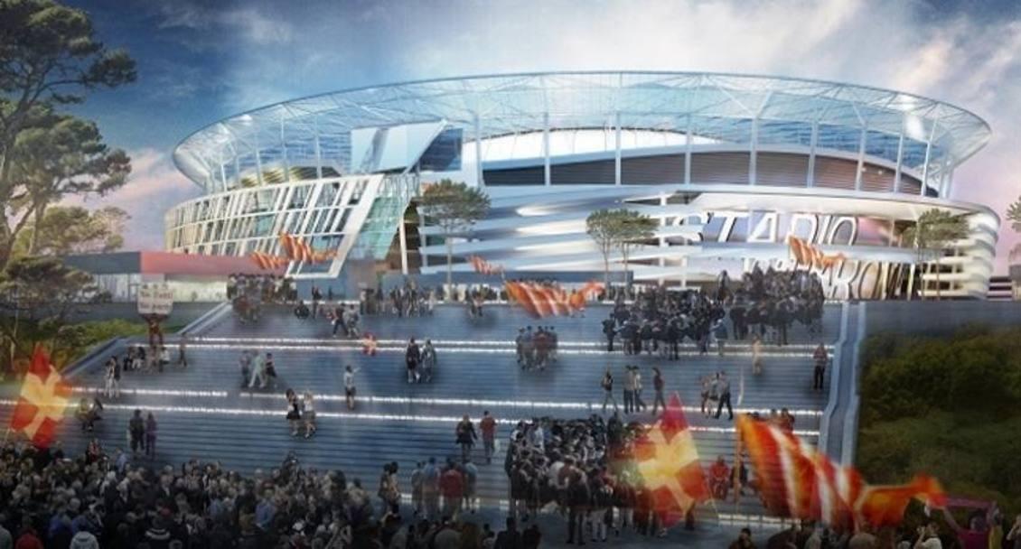 Roma, nuovo stadio: la bocciatura della conferenza dei servizi