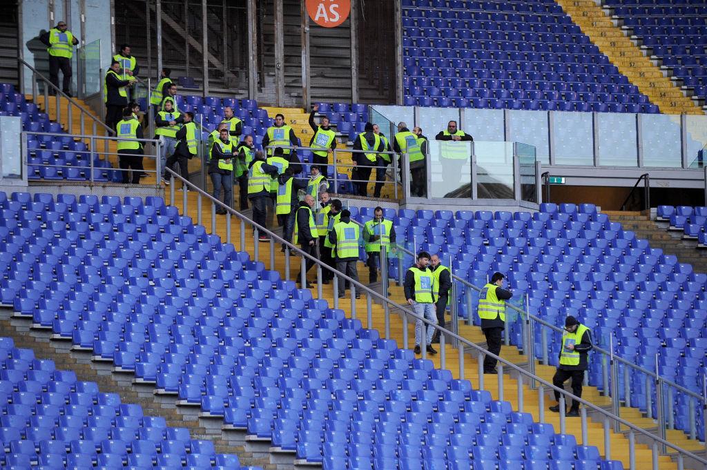 Derby Roma-Lazio, via alle barriere: i lavori dopo Roma-Empoli