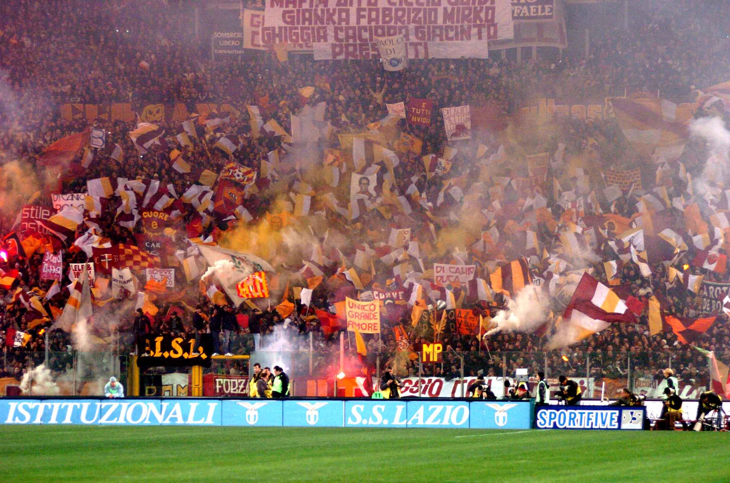 Derby Roma-Lazio, Questura: controlli e bonifiche già da stasera