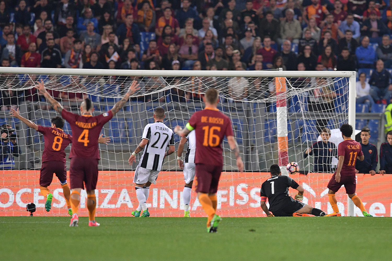 Roma-Juventus 3-1 Video Gol, Highlights e Sintesi (Serie A 2016-17)