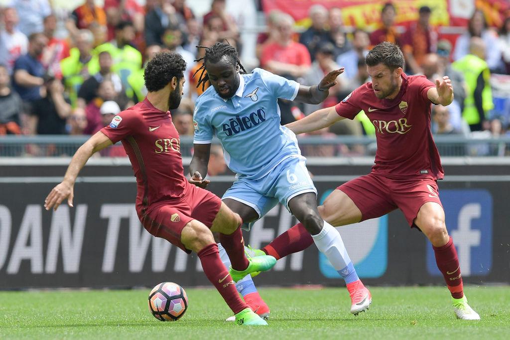 Roma-Lazio, Kevin Strootman simula in area: rischio prova tv e squalifica
