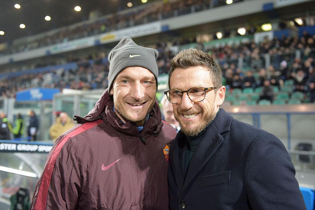 Calciomercato Roma, è la settimana decisiva per Totti e Di Francesco