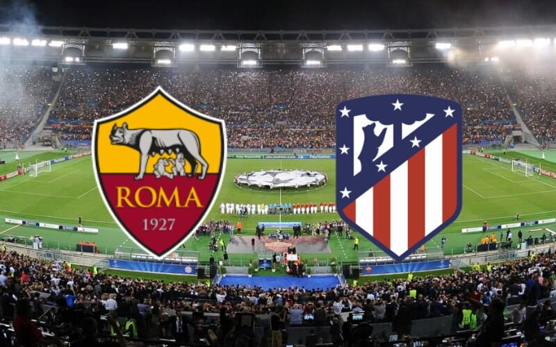 Roma- Atletico Madrid. Le formazioni ufficiali