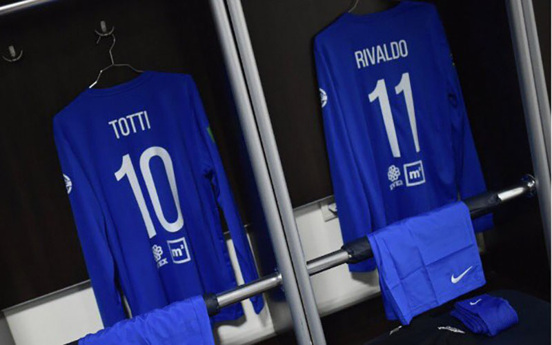 Totti torna in campo e dà spettacolo: goal e assist al WorldStarsforGeorgia