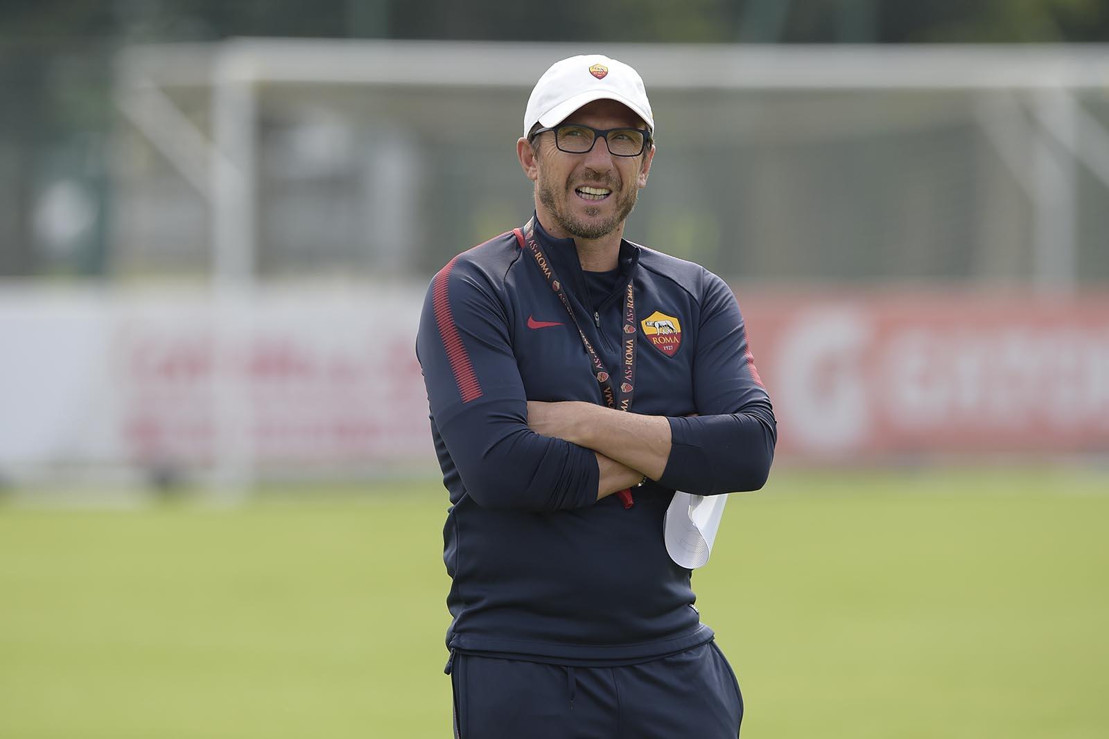 Roma, D'Alema si scusa con Di Francesco: