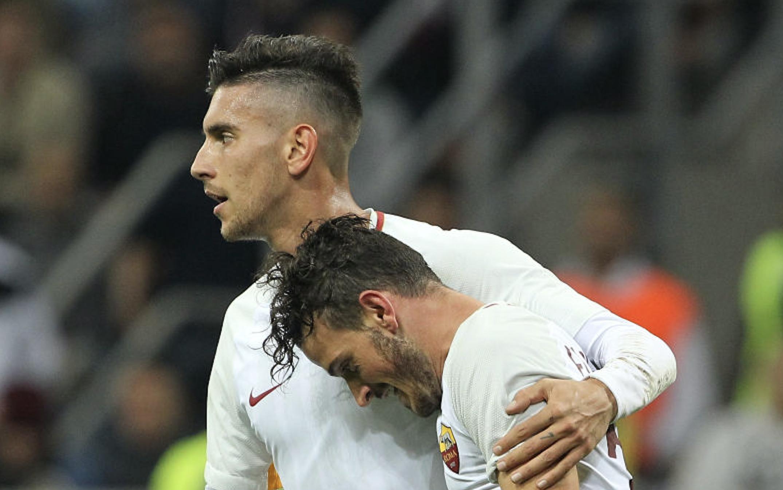 Milan-Roma, infortunio per Strootman: Pellegrini al suo posto