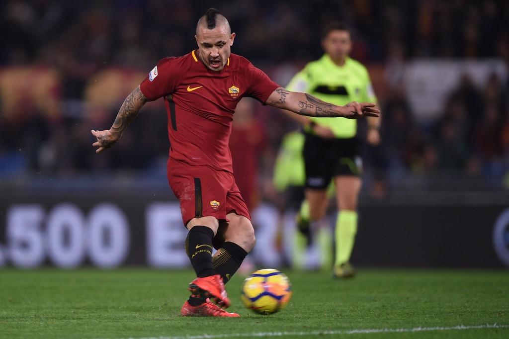 Roma, Di Francesco: 'Nainggolan diffidato? Non penso alla Juve'