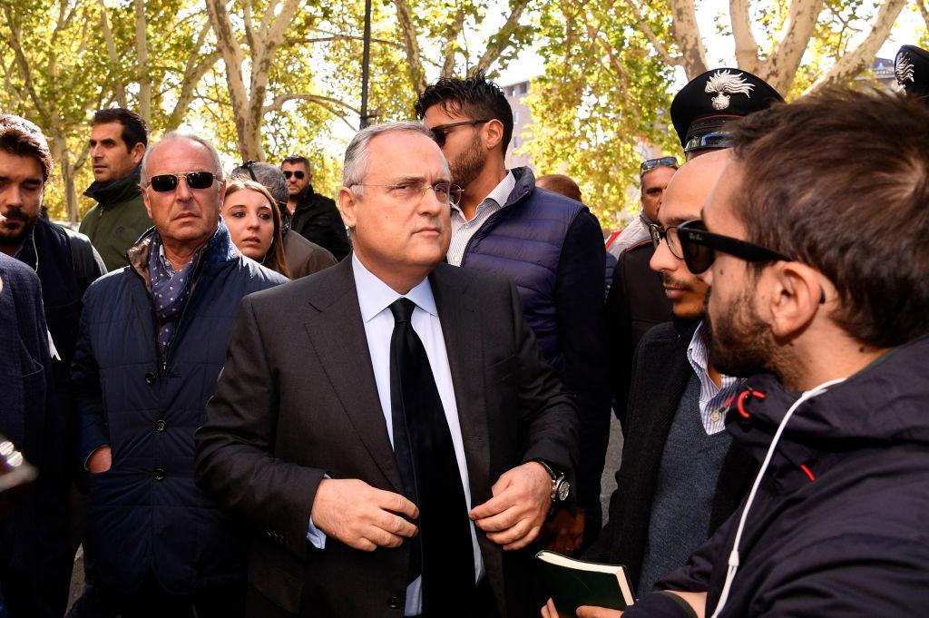 Lotito accende Lazio-Roma: