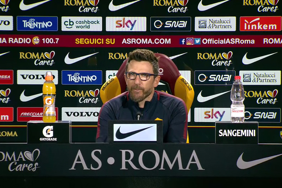 Di Francesco, derby e finale: