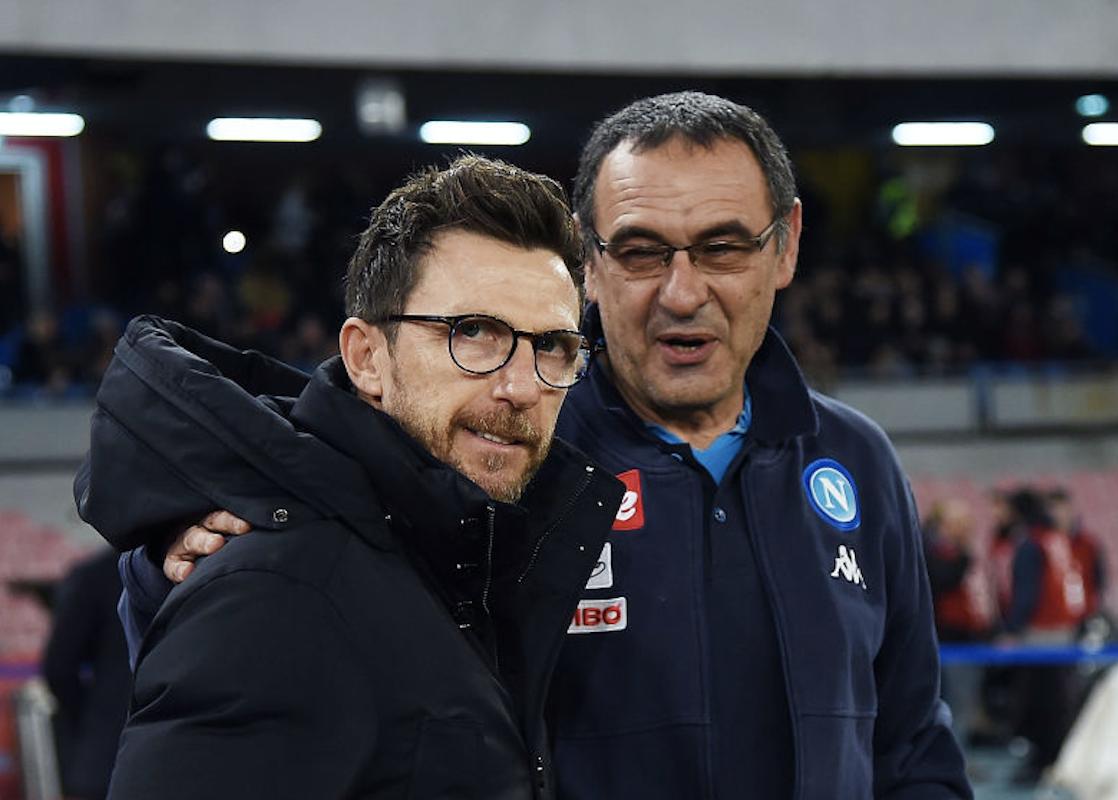 Eusebio Di Francesco e Maurizio Sarri