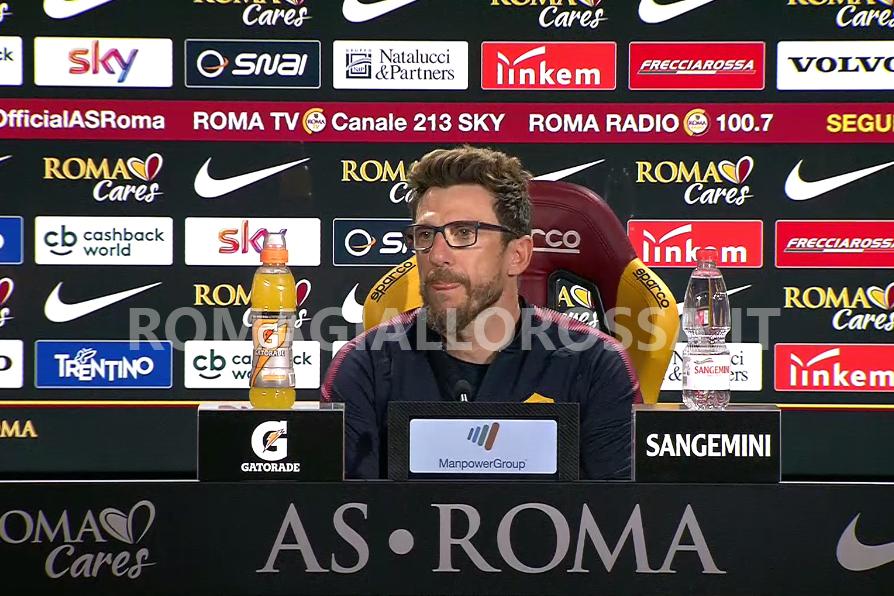 La Roma fa le prove di rimonta, Chievo umiliato