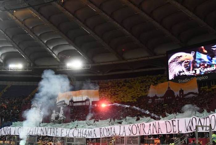 Daspo per due tifosi dopo il derby Lazio-Roma all'Olimpico