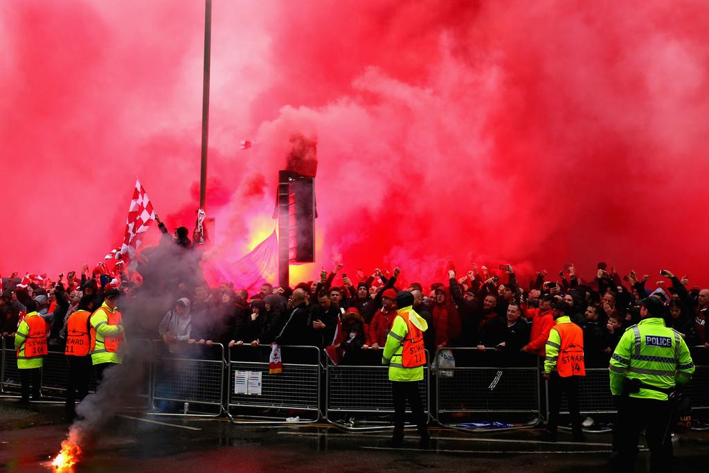 Scontri a Liverpool, due tifosi romanisti incriminati:
