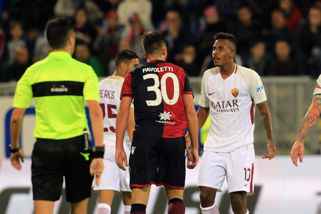 Ex Bari, Capradossi debutta in Serie A con la Roma