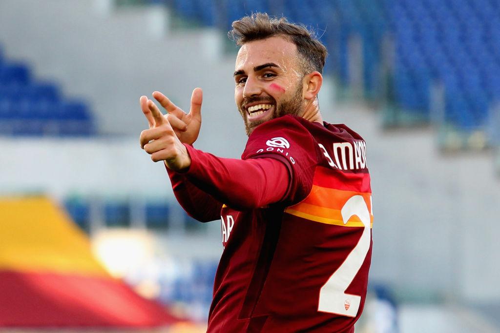 Borja Mayoral, il suo primo gol giallorosso in Serie A